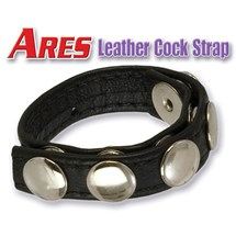 adonis ares leather cock strap