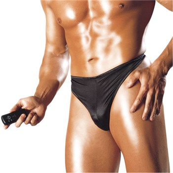 Vibrating Wireless Thong For Him
