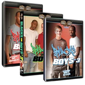 Blacks On Boys Vol 1-3
