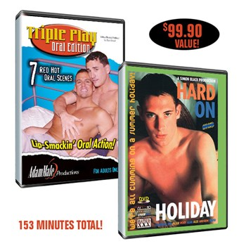 Triple Play Oral+Hard On Holiday