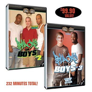 Blacks On Boys 2 & 3