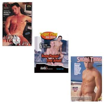 3 adult dvds