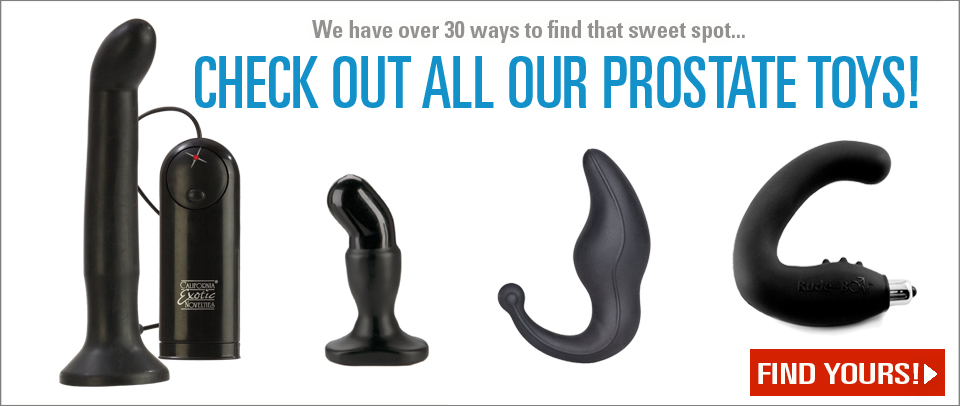 Shop Our Selection of Prostate Toys!