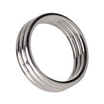 echo stainless steel triple cock ring