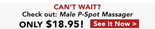Male P-Spot Massager