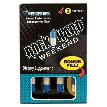 rock hard weekend 4 count box
