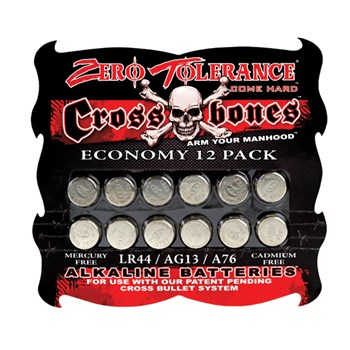Zero Tolerance R44-12 Pk Batteries
