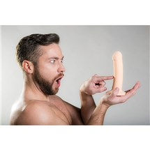 male model with Luxe Touch Dildo
