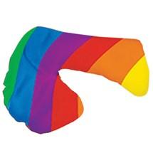Multi colored penis sock.