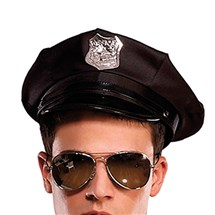 Police officer costume hat