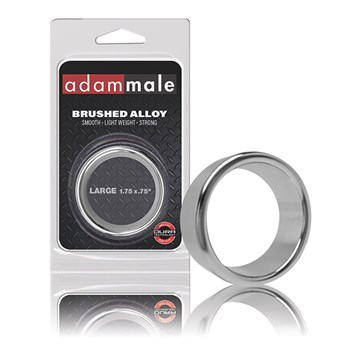 Adammale Brushed Alloy Ring