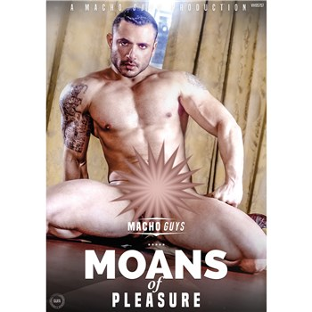 Brunette male nude moans of Pleasure
