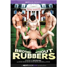 Four brunette males Brothers Without rubbers