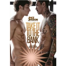 Two nude males Take It to the Bank