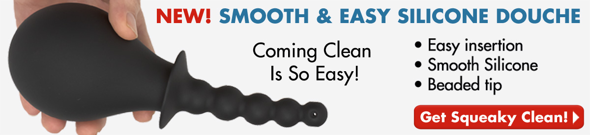 NEW! Smooth & Easy Silicone Douche