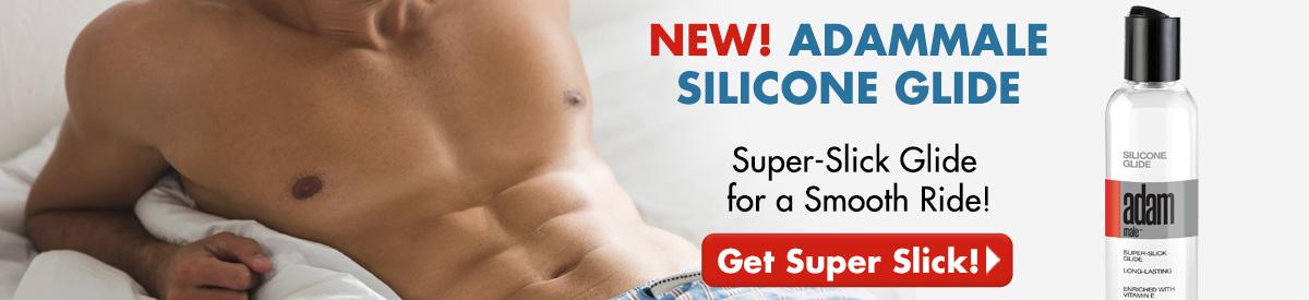 NEW! AdamMale Silicone Glide