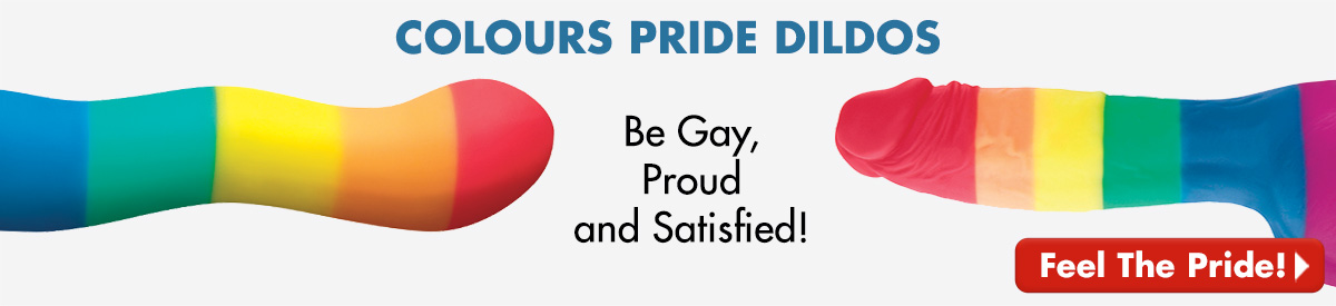 Colours Pride Dildos