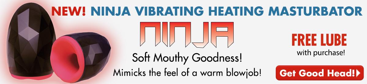 NEW! Ninja Heating Masturbator