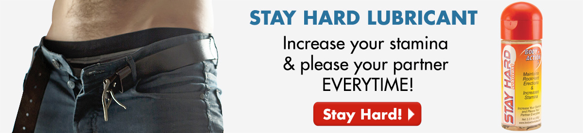 Stay Hard Lubricant