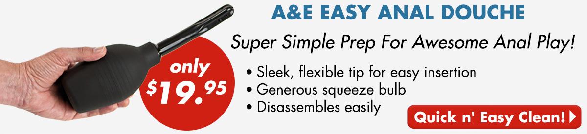 A&E Easy Anal Douche