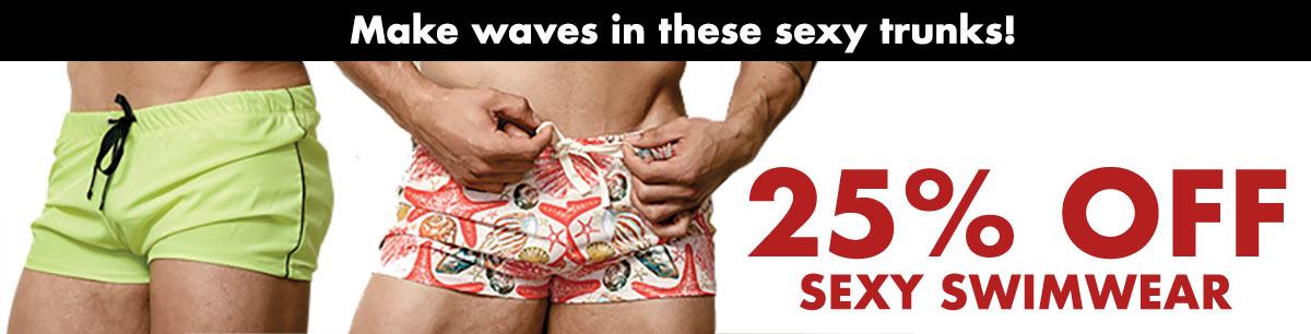 25% Off Sexy Swimwear