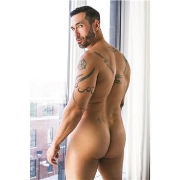 nude male rear view