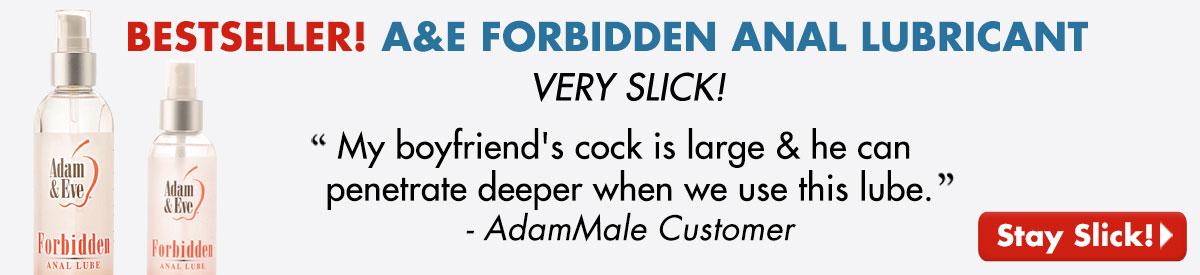 BESTSELLER! A&E Forbidden Anal Lubricant