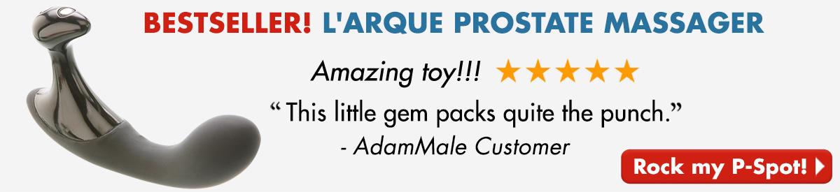 BESTSELLER! L'Arque Prostate Massager