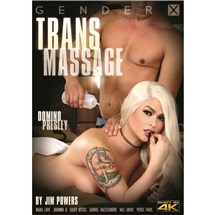 Blonde Ts female with Male Trans Massage