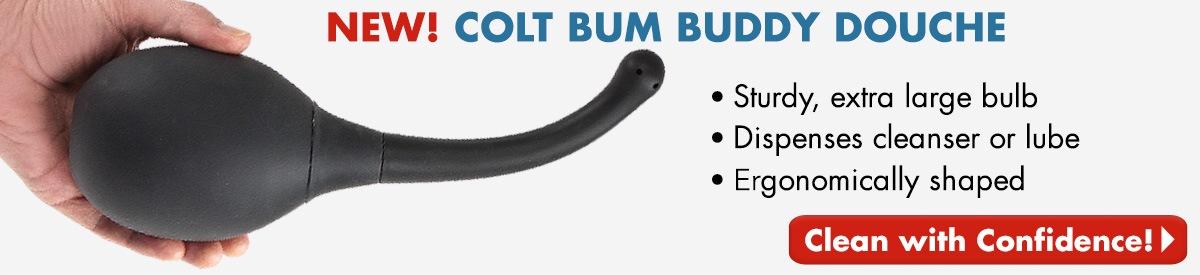 NEW! Colt Bum Buddy Douche