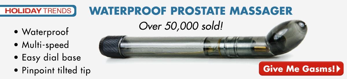 Waterproof Prostate Massager