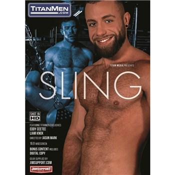 Nude male revealing torso SLING