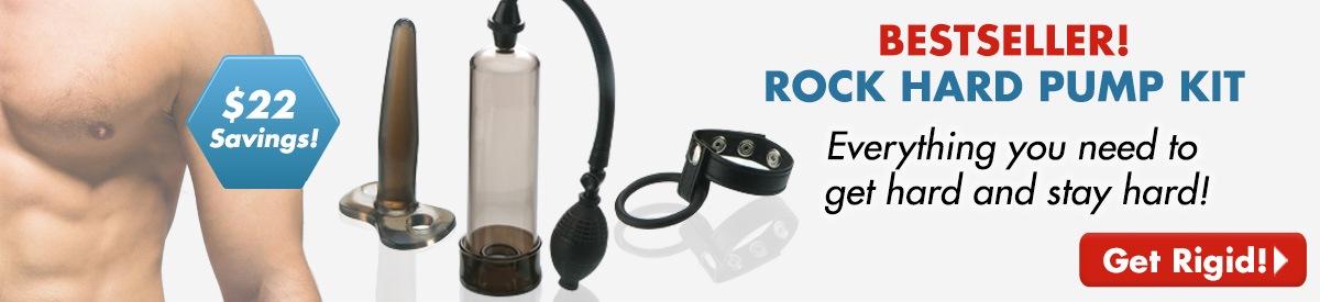 Rock Hard Pump Kit