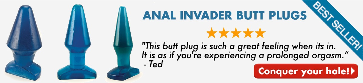 Anal Invader Butt Plugs