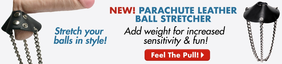 NEW! Parachute Leather Ball Stretcher
