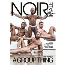 Four males wearing only g-strings A Group thing