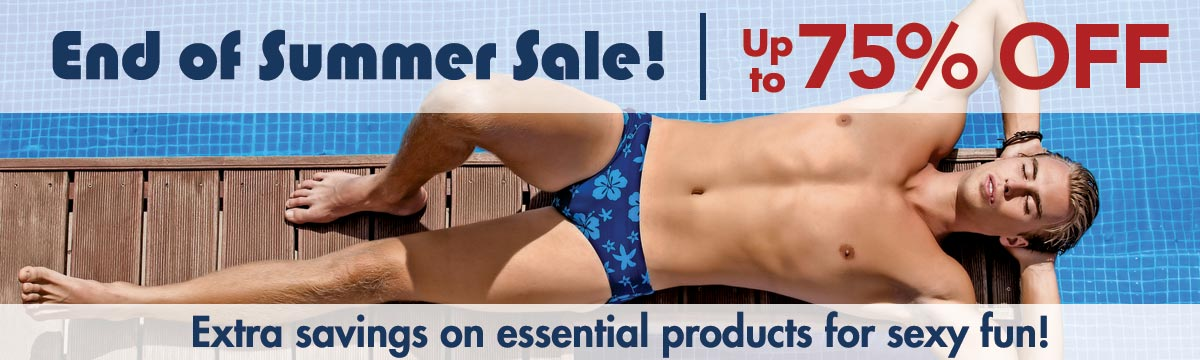 End of Summer Sale! Savings up 75% Off!
