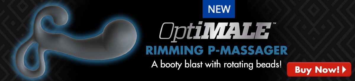 NEW! OptiMale Rimming P-Massager